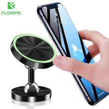 FLOVEME Luminous Magnetic Car Phone Holder Stand in Car For iPhone X Samsung Magnet Air Vent Mount Cell Mobile Phone Support GPS floveme magnetic car phone holder for iphone samsung 360 air mount magnet holder stand for mobile phone in car gps holders mount