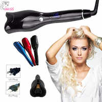 Ceramic Automatic Curling Iron Air Curler Spin & N Curl 1 Inch Ceramic Rotating Curler Curlers Hair Styling Cleaning Tools