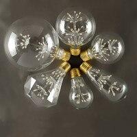 Retro Edison lichtquelle led-lampen E27 schraube glühbirne Restaurant bar led Lampe hochzeit dekoration beleuchtung