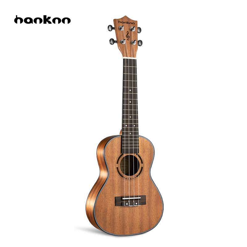Hanknn 23 inch Ukulele Acoustic Guitar Concert Ukulele Professional Stringed Musical Instruments Handcraft Ukelele For Beginner 26 inchtenor ukulele guitar handcraft made of mahogany samll stringed guitarra ukelele hawaii uke musical instrument free bag