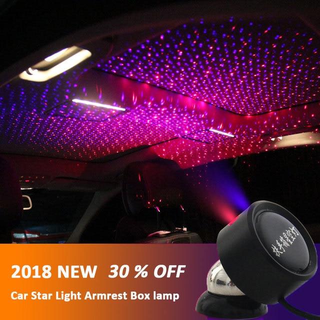 led car roof star night lights projector universal ceiling decoration light interior ambient. Black Bedroom Furniture Sets. Home Design Ideas