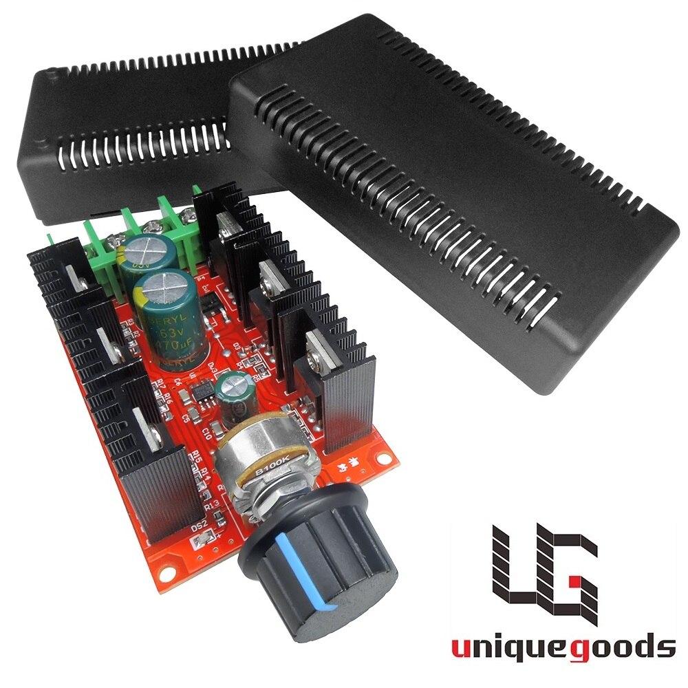 Motor de corriente continua Control de velocidad PWM HHO RC controlador 10/V-50/V 2000/W MAX 40/A