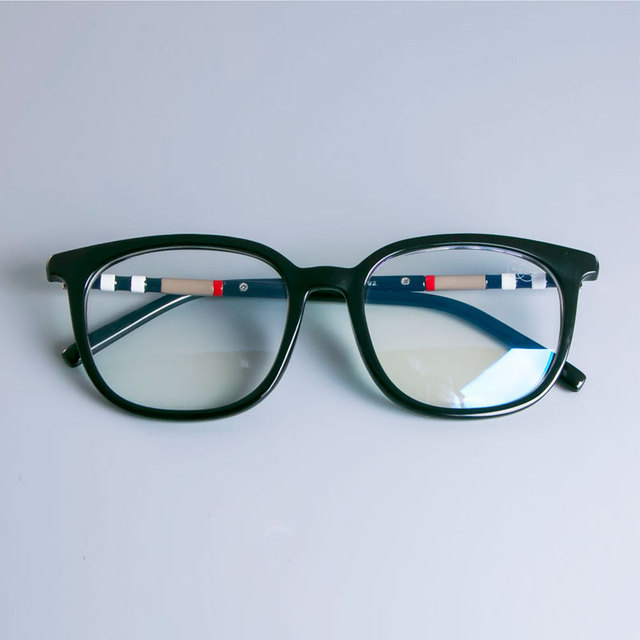 47892 Anti Blue TR90 Cat Eye Luxury Glasses Frames Men Women Trending Styles UV400 Optical Fashion Computer Glasses 5