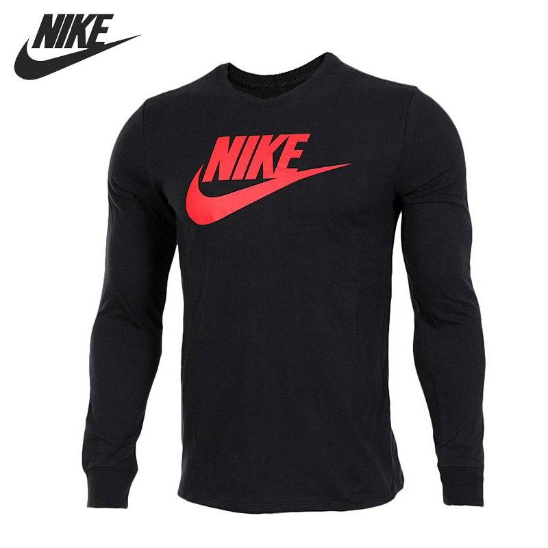 Original New Arrival NIKE TEE-FUTURA ICON LS Men's T-shirts Long sleeve Sportswear sanctuary new tan long sleeve lace inset tee xs $49 dbfl