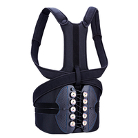 Tcare 1Pcs Adjustable Posture Corrector Waist Shoulder Brace Back Support Belt for Men Women Kids Back Shoulder Support