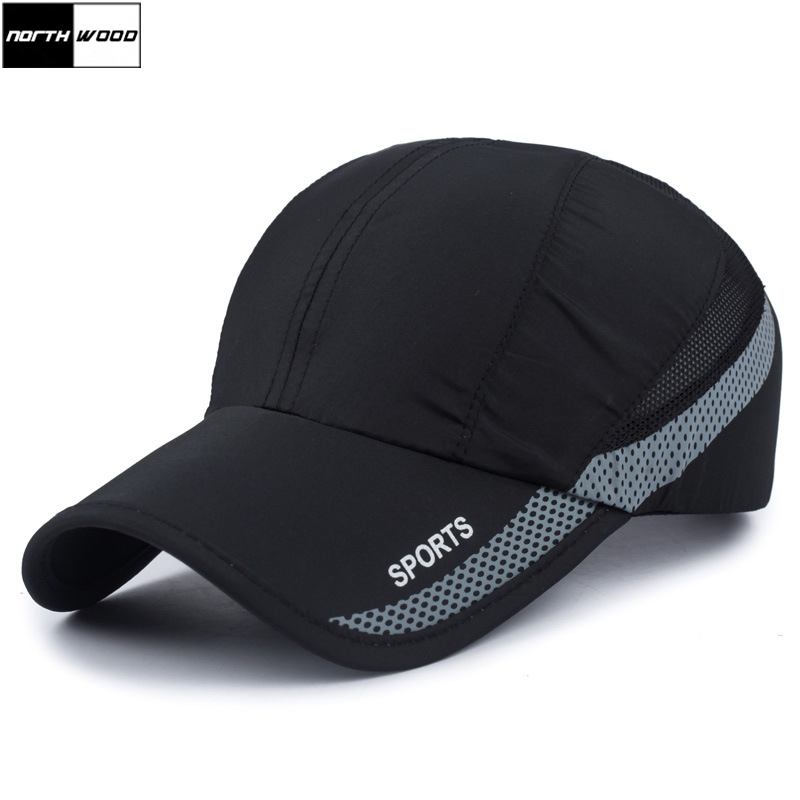 Summer Cap Snapback-Cap NORTHWOOD Breathable Mens Sport Women Dad-Hat Quick-Drying Fashion