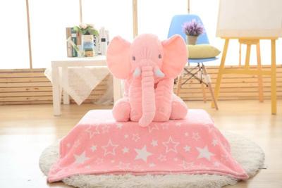 Pequeno Tamanho 40 cm 5 cores Elefante De Pelúcia Brinquedo Macio Brinquedo de Pelúcia Do Bebê Brinquedo Anminal Apaziguar Sono Do Bebê Travesseiro