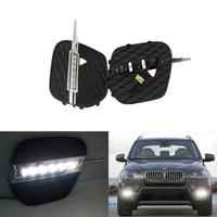 Новый автомобиль конкретной 2010 2013X5 E70 светодиодный DRL дневного света 12 В затемнения на/ от светодиодный DRL Дневной свет для BMW