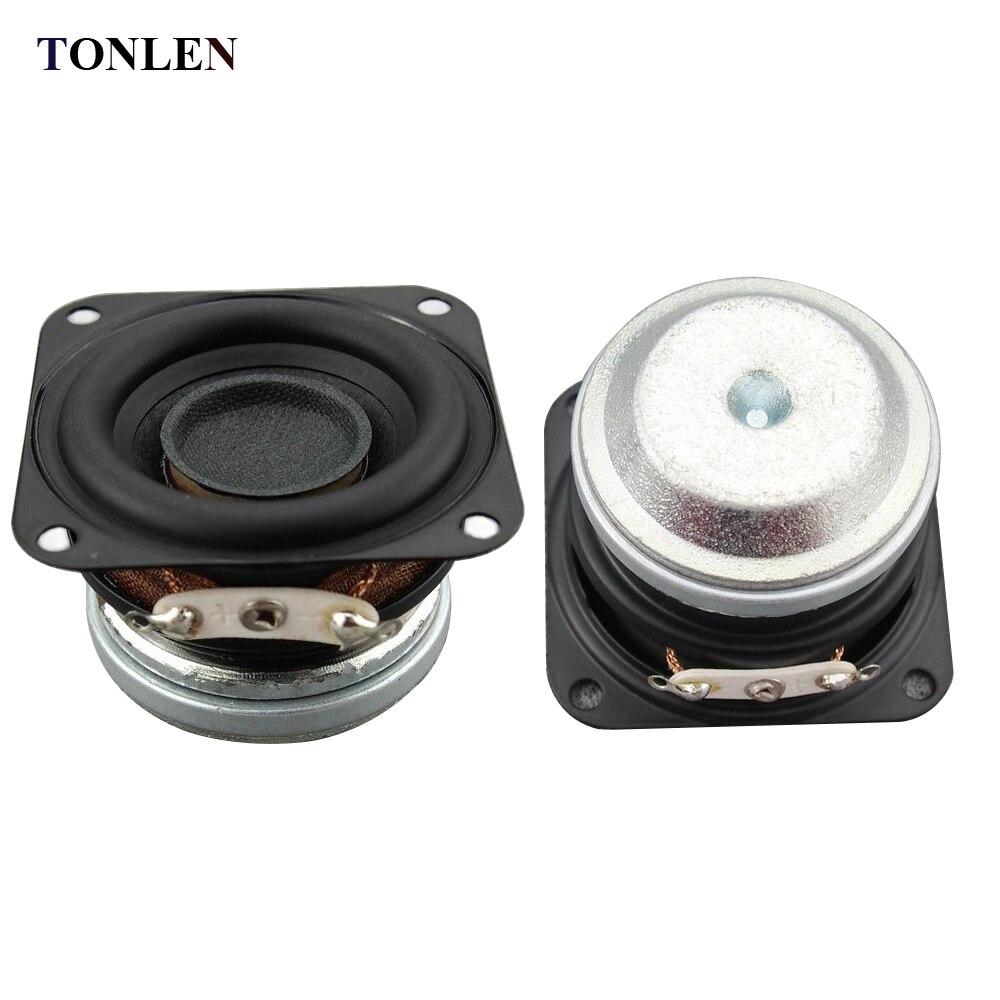 TONLEN 10W 4 ohmios HiFi Altavoz de rango completo 1.5 pulgadas 40 mm - Audio y video portátil