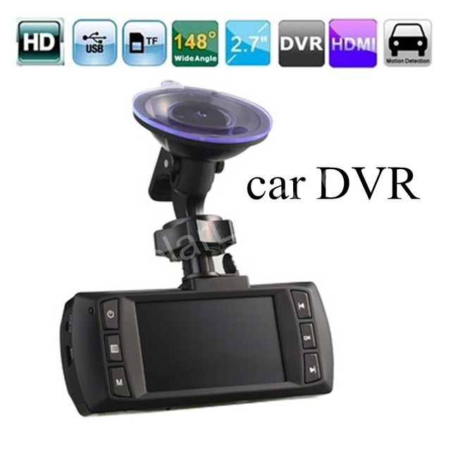 hot AT500 Car DVR Full HD 2.7 Inch Camcorder DVR G-sensor motion detection 148 degree wide viewing angle car styling