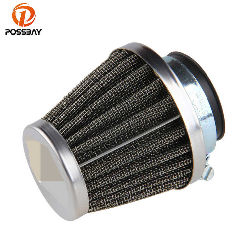 Possbay 39 Mm Motorcycle Air Filter Cleaner Voor Honda Suzuki Kawasaki Scooter Air Pods Cafe Racer Dirt Bike Pit Air filter