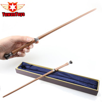 Newest Metal Core Newest Quality Deluxe Harry Potter Pius Thicknesse Magic Wands Stick With Gift Box