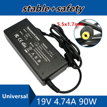 Universal Power Supply 19V 4.74A 5.5*1.7mm For Acer Aspire 4710G 4720G 4730 AC Adapter Lapt