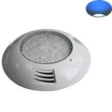 12V морской пластиковый катер светодиодные подводный свет водонепроницаемый наружного освещения 6W-24W водить плавательный бассейн украшения лампы