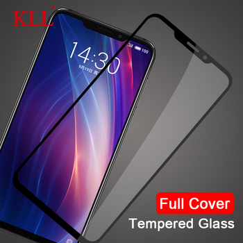 Full Cover Tempered Glass for Meizu X8 Note 8 M6S M3s Mini M5s M5 M3 M6 Screen Protector for Meizu 16th 16X Protective Glass for meizu m6 note case 360 degree full body cover case for meizu m6 note 6 shockproof case with tempered glass meilan note6