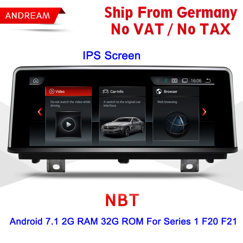 Bmw Xz: Quad Core Android 7.1 Vehicle Multimedia Player Germany