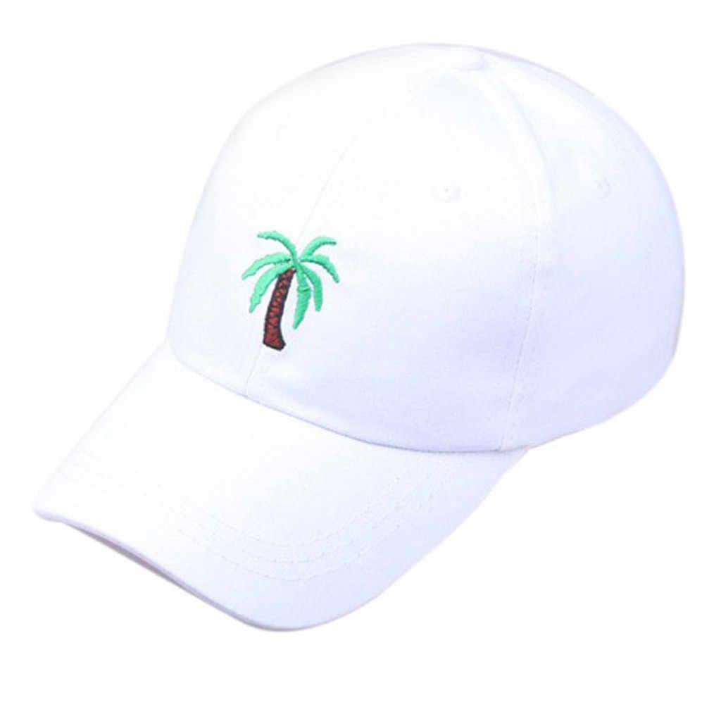 Feitong 2019 夏真新しいコットンメンズハット女性男性ユニセックス夏屋外木バイザー野球帽調整可能な帽子