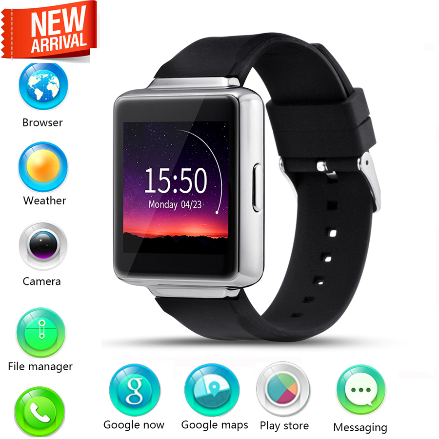 ФОТО Femperna K1 3G Bluetooth SmartWatch MTK6580 Quad Core 1.3GHZ 8GB 512MB Wifi Smart Watch Support Google Map GPS For Android 5.1