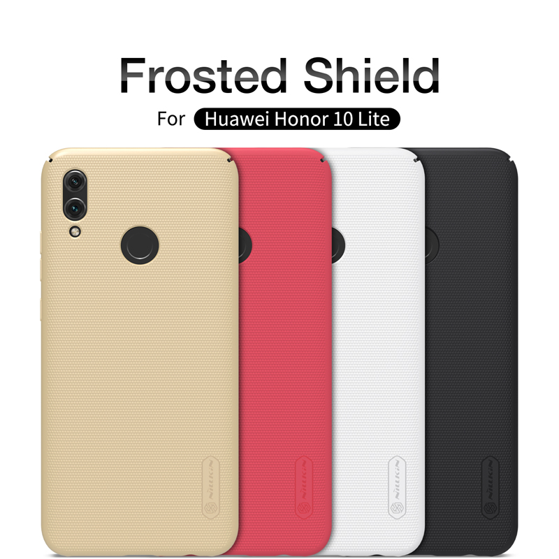For Huawei honor 10 lite case Nillkin Super frosted PC hard case plastic back cover case For Huawei honor 10 lite phone bags