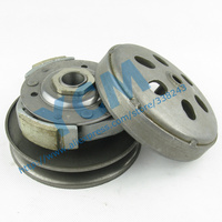 12mm Hole Water Cooled CF150 Clutch Pulley Assy Driven Pulley CH125/150 Wheel Clutch Belt Pulley Wholesale Scooter Parts