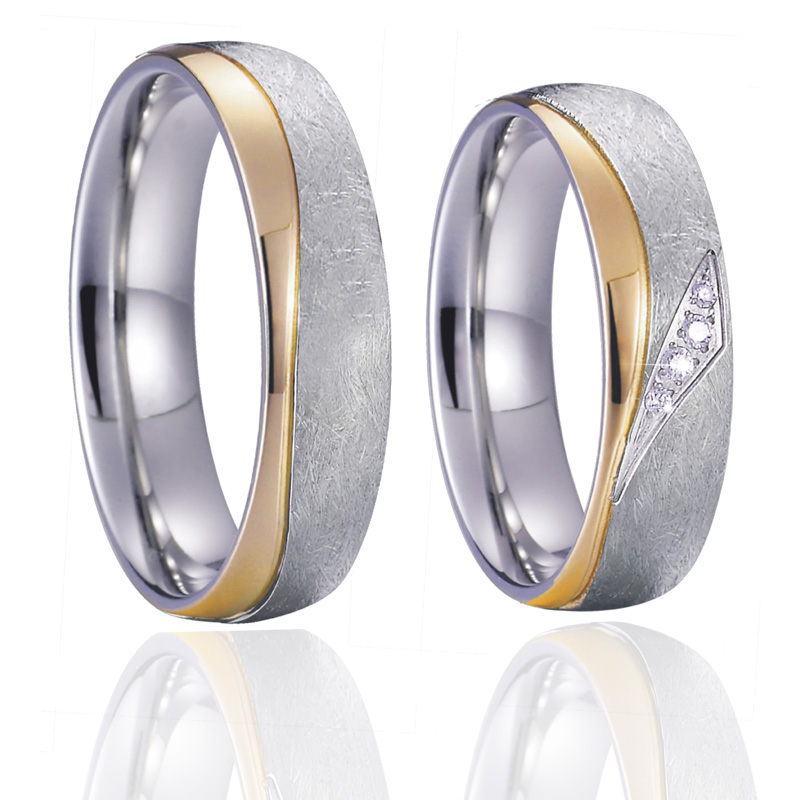 Alliance His And Hers Wedding Rings Set For Men And Women Gold