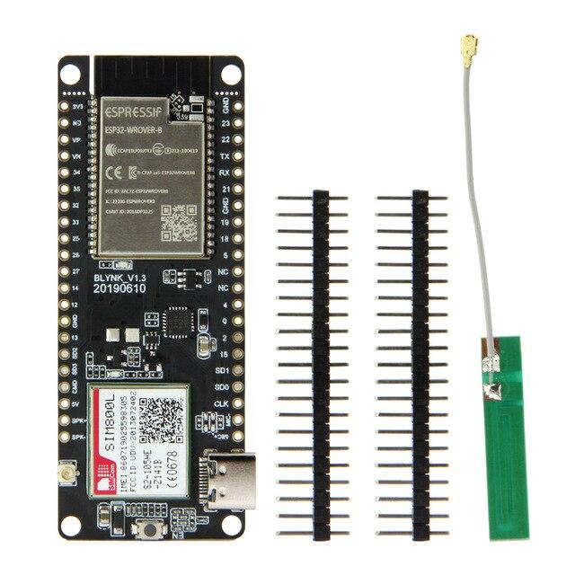 Ttgo t コール V1.3 ESP32 ワイヤレスモジュール gprs アンテナ sim カード SIM800L ボード