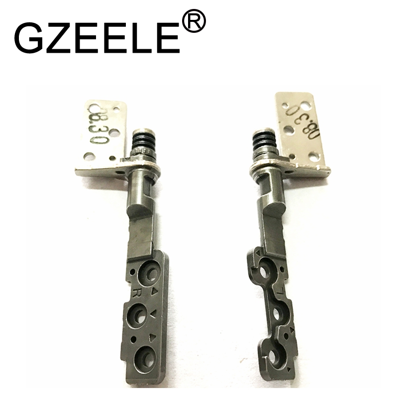 GZEELE New Notebook LCD Hinges Right & Left Set For Samsung NP900X4B NP900X4C NP900X4D NP900X4E NP 900X4B 900X4C 900X4D 900X4E