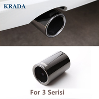 Car Styling Car Exhaust Pipe Muffler Tip Turbo Sound Whistle Auto For BMW M Power E21