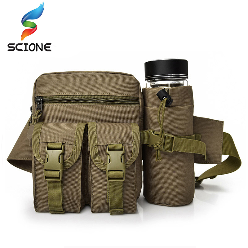 2018 Hot Outdoor Camouflage Military Waist Bag Hot Professional Camping And Hiking Tactical Pouch New Cycling Army Molle Bag цена