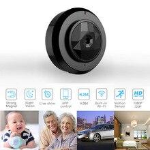 Новая WiFi мини камера HD 720 P смартфон приложение ночного видения домашняя камера видеонаблюдения