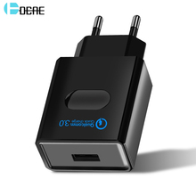 DCAE Quick Charge 3.0 USB Charger Power Adapter for iPhone iPad Samsung Xiaomi LG HTC