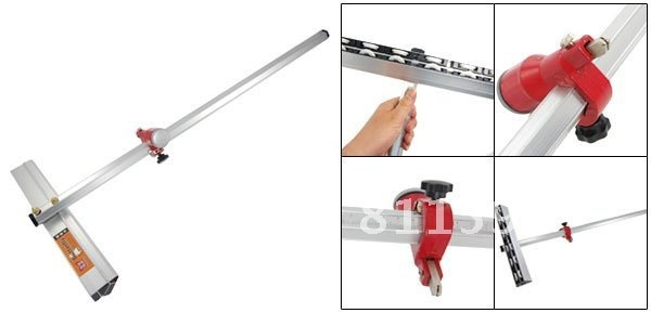 Free Shipping 60cm Length T Type Aluminum Alloy Glass Cutter Tool