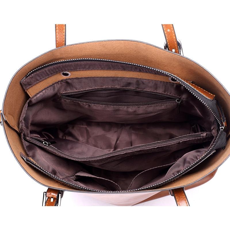 clássico sling bolsa de couro Comprimento : 32cm