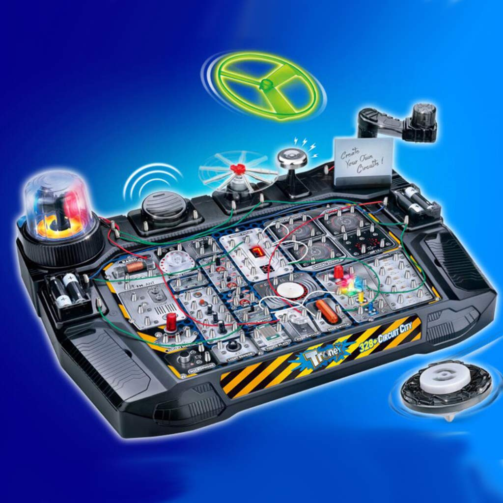 Electric Circuits DIY Experimental Model Physics Science Learning Educational Toys Birthday Gift for Children Kids Toddler
