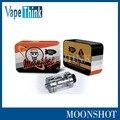Original Sigelei Moonshot tanque 2 ml llenado superior RDTA atomizador sigelei Control de Temperatura moonshot RTA