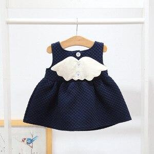 Image 3 - 아기 소녀를위한 크리스마스 복장 파티 공주 복장 가을 겨울 유아 어린이 결혼식 아기 소녀 복장 0 2 년