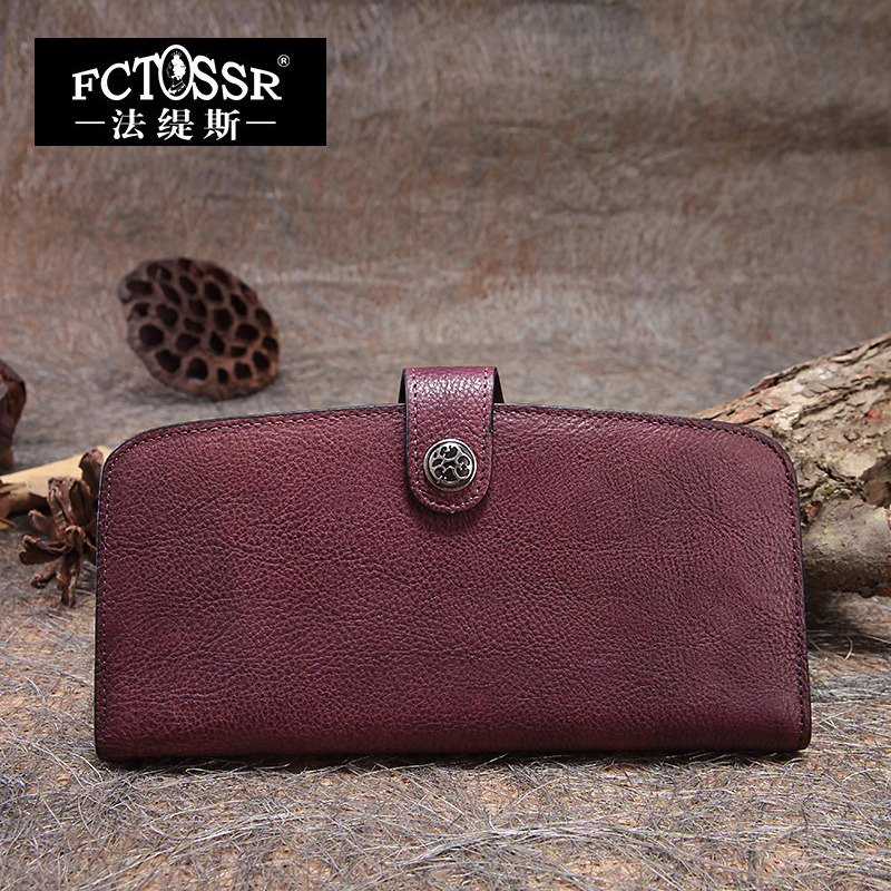 Long Women Wallets 2018 Vintage Envelope Bag Handmade Cowhide Day Clutch Purse Solid Color Leather Wallet фронтальная панель ravak rosa 140 см белая czh1000a00