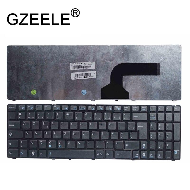 GZEELE NEW FR French Keyboard For Asus N70 N70S N73 N73J N73JF N73JG N73JN N73JQ N73SM N73SV N51T N53SV N51V N53JQ N53S AZERTY