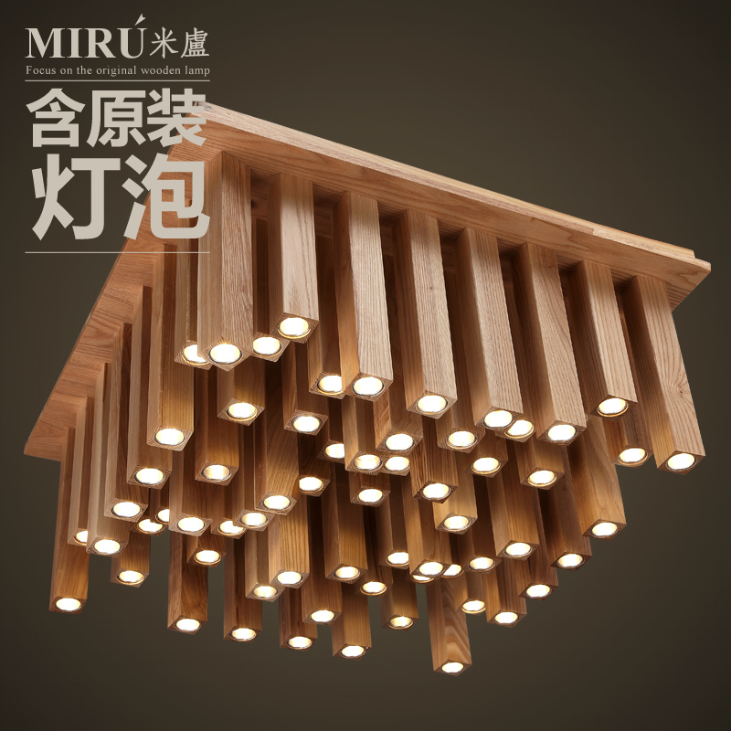 Milutinovic [] Art Lamps Lighting Teana Designer Hotel Room Nordic Wood  Ceiling Lamps In Ceiling Lights From Lights U0026 Lighting On Aliexpress.com |  Alibaba ...