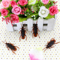 100pcs Funny Life-like Fake Roach Trick joke toy April fools day gift Blackbeetle Cockroach Trick