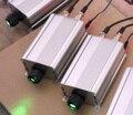 9 W DMX RGB LED del motor de fibra óptica, con mando a distancia, de entrada AC85-260V; entrada de señal dmx512