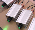 9W LED DMX RGB optical fiber engine,with remote;AC85-260V input;dmx512 signal input