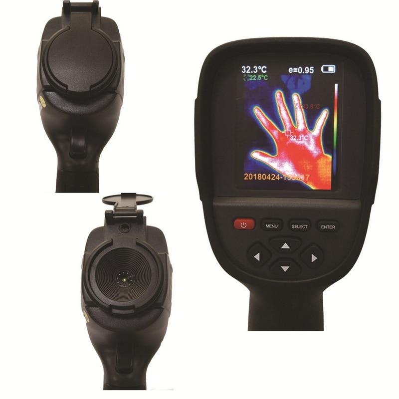 HT-18 caméra thermique portable imageur thermique IR thermomètre infrarouge-20 à 300 degrés température outil d'imagerie thermique