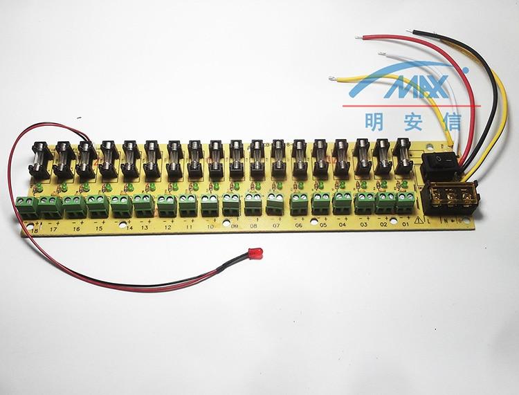 HTB1syfLJVXXXXXfXpXXq6xXFXXXK 5v 12v 24v dc power distribution 18 ch pcb board terminal block for