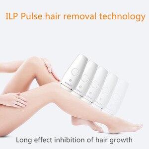 Image 4 - Depiladora láser IPL para mujer, depilación permanente, táctil, cuerpo, piernas, Bikini, fotodepiladora