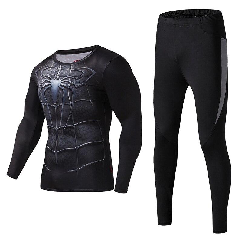 Les hommes de compression chemise manches longues de remise en forme - Sportswear et accessoires - Photo 2