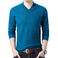 Pullovers Mens Winter V Neck Sweaters Men Sweater Men Soft Warm Slim Fit Long Sleeve Knitwear