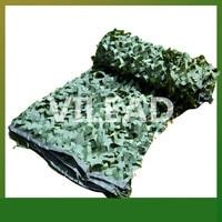 3M 10M Surplus Camouflage Netting Green Camo Netting Camping Sun Shade Camo Tarp Army Tarp Camping