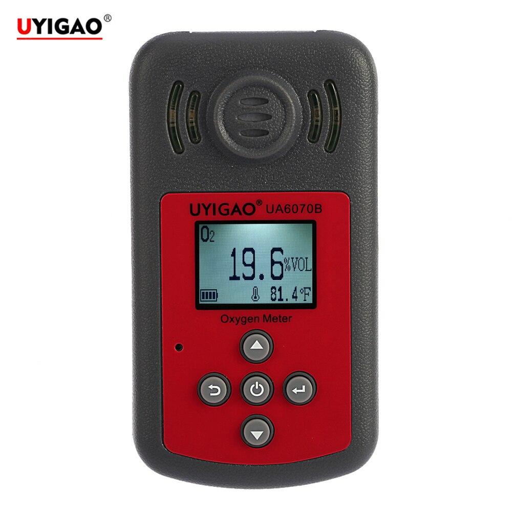 Ручной Портативный автомобильный мини кислорода метр O2 газ тестер Monitor детектор с ЖК-дисплей Дисплей звуковой и световой сигнализации