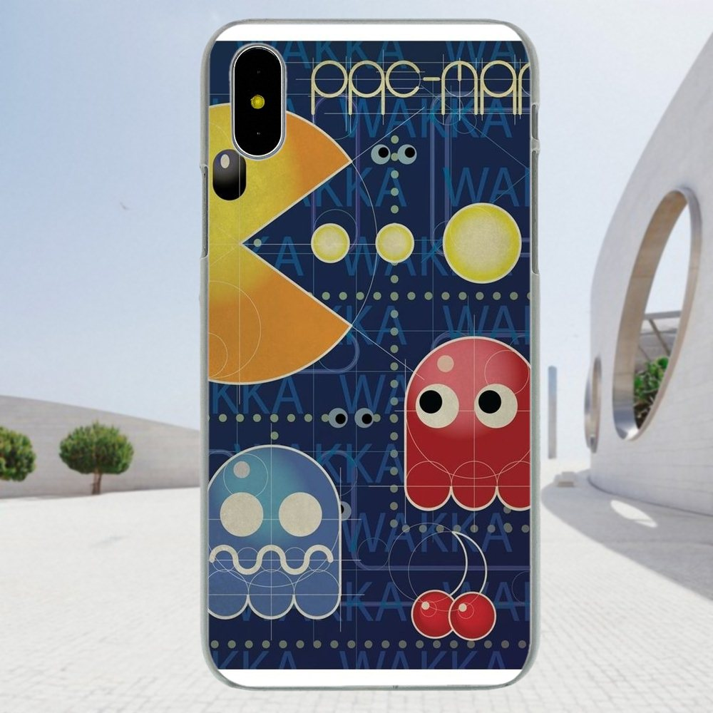 Game Pac-man Pac Man Poster For Xiaomi Redmi Note 2 3 3S 4 4A 4X 5 5A 6 6A  Pro Plus Soft Design Customized 937ac5ea7ef5